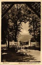 CPA Göhren. Waldhotel. Garten mit Ausblick auf die See. GERMANY (662732)