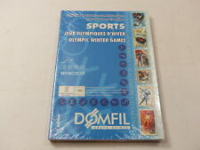 DOMFIL Winter Olympic Sports thematic catalogue 1st edition