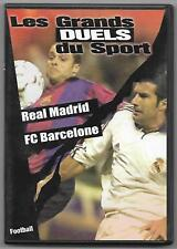DVD FOOTBALL / LES GRANDS DUEL DU SPORT , REAL MADRID , FC BARCELONE