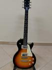 Chitarra Elettrica Sunburst Stile Les Paul Vintage 6 Corde  for sale