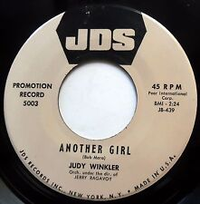 JUDY WINKLER 45 Another Girl / You Told Me So VG++ Teen PROMO Doo Wop e8255