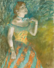 The Singer In Green Edgar Degas Wall Art Print CANVAS Giclee Repro Poster Small