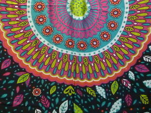 Retro Funky Boho Hippy Large Batik Sarong Shawl Wrap Beach Skirt Dress Bright