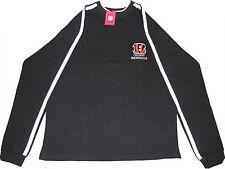 Cincinnati Bengals NFL Lightweight Pullover Black Sweatshirt Big & Tall Sizes