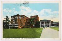 Postcard Adirondack Mountains NY Lake Placid Club The Adora Street View 1920's