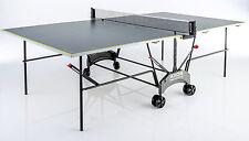 Tischtennisplatte Von KETTLER Axos Wetterfest Alu platte Outdoor 1 Grau/gelb