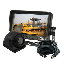 """NEW CEMENT TRUCK 7"""" REAR VIEW BACKUP CAMERA SYSTEM, REVERSE, FOR SKID STEER"""