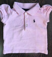 Ralph Lauren Pink Polo Top, Age 12 Months