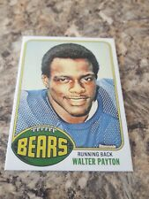 WALTER PAYTON 1976 TOPPS ROOKIE CARD MINT REPRINT..