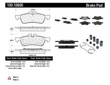Disc Brake Pad Set-OE Formula Brake Pads with Hardware Rear fits 02-08 Cooper