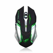Rechargeable Wireless Mouse Silent LED USB Optical Stylish Ergonomic Gaming Mice