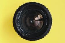 Lens Carl Zeiss Jena Flektogon  4 / 25mm PL mount Arri Red One Arriflex F3 F5