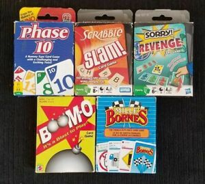 Mille Bornes Card Game or Phase 10 Card Game, Fun Family Card Game