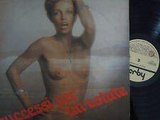 AL BANO POWER BERTE', CELENTANO - SUCCESSI PER UN'ESTATE (SEXY COVER) LP, 1975