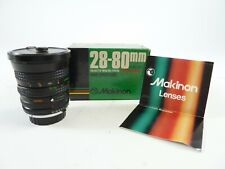 Makinon 28-80mm F/3.5-4.5 for MD Mount in original box & in Excellent Condition