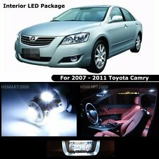 12PCS Cool White Interior LED Bulbs Package Kit For 2007 - 2011 Toyota Camry