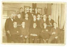 Altes Foto Gruppenfoto Herrenrunde Coethen 1921 Martens Wilsmann Petersen Koch