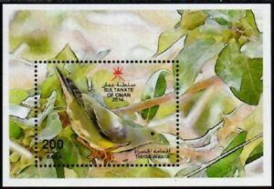 027 Oman 2014 Birds - MNH