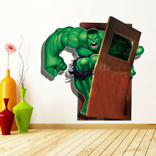 3D The Avengers Hulk Wall Sticker Mural Decal Removable Vinyl Nursery Room Decor