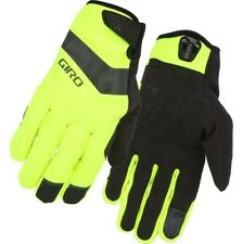 New Giro Men's Ambient Gel Winter Gloves Cycling Bike Volt Yellow