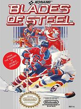 Blades of Steel Nes Video Game High Quality Metal Magnet 3 x 4 inches 9173