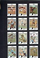 1975   CRONULLA SHARKS   RUGBY LEAGUE  CARDS - ALL 12 CARDS