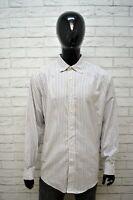 Camicia Uomo BROOKS BROTHERS Taglia XL Manica Lunga Cotone Shirt Man Maglia