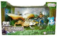 Schleich 70129 - Eldrador Warrior with griffin, Articulated Arm, Moveable Wings
