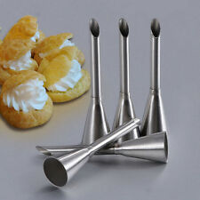 Cream Butter Doughnut Filler Steel Cake Choclate Piping Decor Nozzle Tube Tool