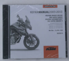 KTM 990 Super Duke/R Reparaturanleitung Repair Manuel CD