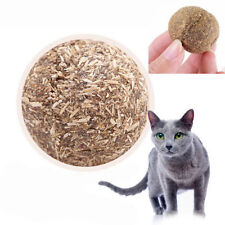 1PC Pet Cat Toys Natural Catnip Healthy Funny Treats Ball For Cats Kitten 3.2cm