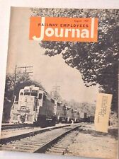 Railway Employees Journal Magazine August 1963 011117RH
