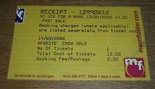 NO USE FOR A NAME Tony Sly TICKET London 06 nofx cd lp nufan foo fighters spazz