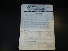 Original Service Manual Grundig  2320