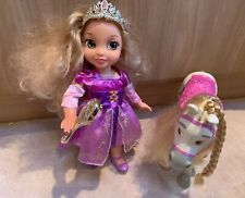 DISNEY PRINCESS TANGLED RAPUNZEL DOLL AND MAXIMUS HORSE VGC