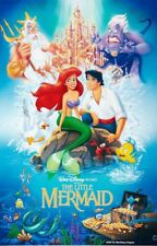 DISNEY THE LITTLE MERMAID ONE SHEET MOVIE POSTER 24X36 NEW FREE SHIPPING