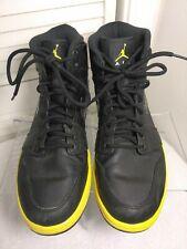 Nike Air Jordan,Men,Size 9.5,Black,Yellow,Basketba ll,High Tops,Shoes,342132-001