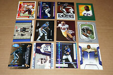 TERRELL SUGGS LOT OF 12 SERIAL NUMBER CARDS W/MOSTLY ROOKIES
