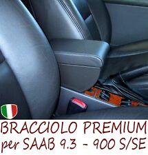 Bracciolo Premium per SAAB 9.3 - 900 S/SE - MADE IN ITALY-appoggiagomito-armrest