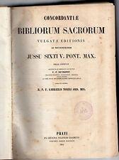 concordatiae sacrorum petropolitanus edición de vulgatae jussu sancti sixti V
