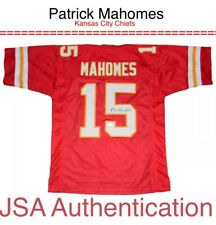 Patrick Mahomes NFL Kansas City Chiefs KC JSA Authentic Autograph SIGNED JERSEY