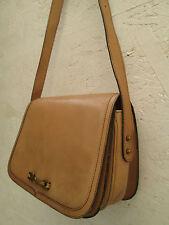 AUTHENTIQUE  sac à main Etienne AIGNER cuir   (T)BEG  vintage  bag*