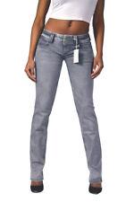 PEPE Knack-Po Jeans VENUS WZ2 Hellgrau Low Waist Straight 24/25/27/28/30