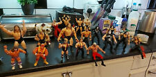 Joblot 22 x  WWE / WWF / WCW Wrestling Figures Collection - Rare - WCW / Hasbro