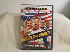 Talladega Nights: The Ballad of Ricky Bobby DVD Movie Unrated Comedy