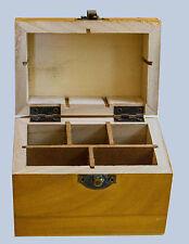 10k 14k 18k 22K G Gold Silver Acid Testing Stone File 5 Slot Storage Box