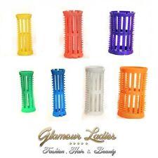 Head Jog Orange 40mm Hair Rollers x 12 + Free Roller Pins Skelox