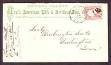 North American Life and Accident Insurance Company Advertising Cover (-461)