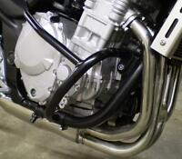 Suzuki Bandit GSF650 2007 > On  Engine Crash Bars in Black