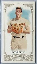2012 Topps Allen & Ginter #80 Brooks Robinson mini w/A&G back NM/MT (Orioles)